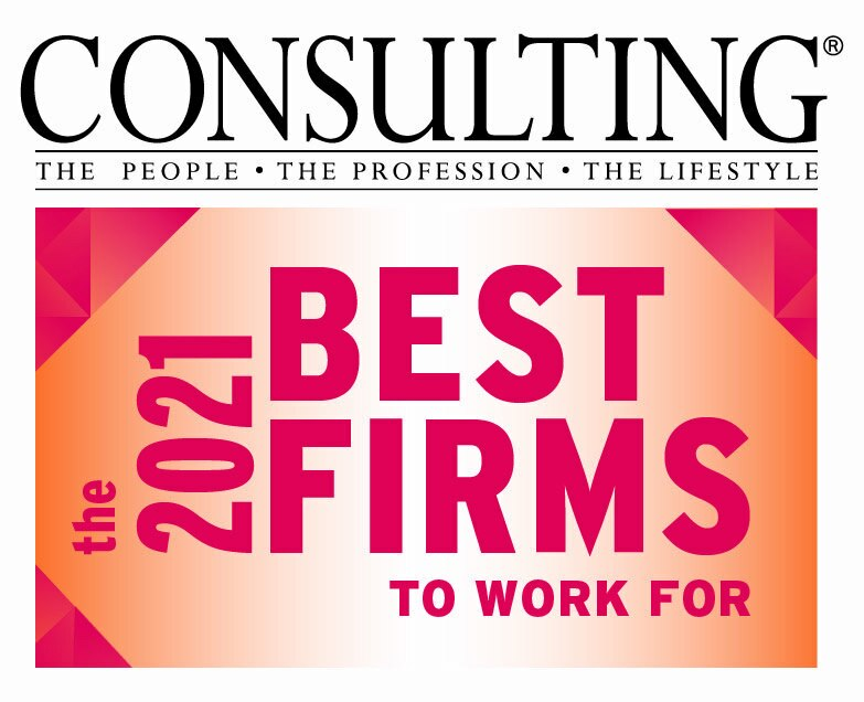 Consulting Magazine The Best Firms to Work For, 2021